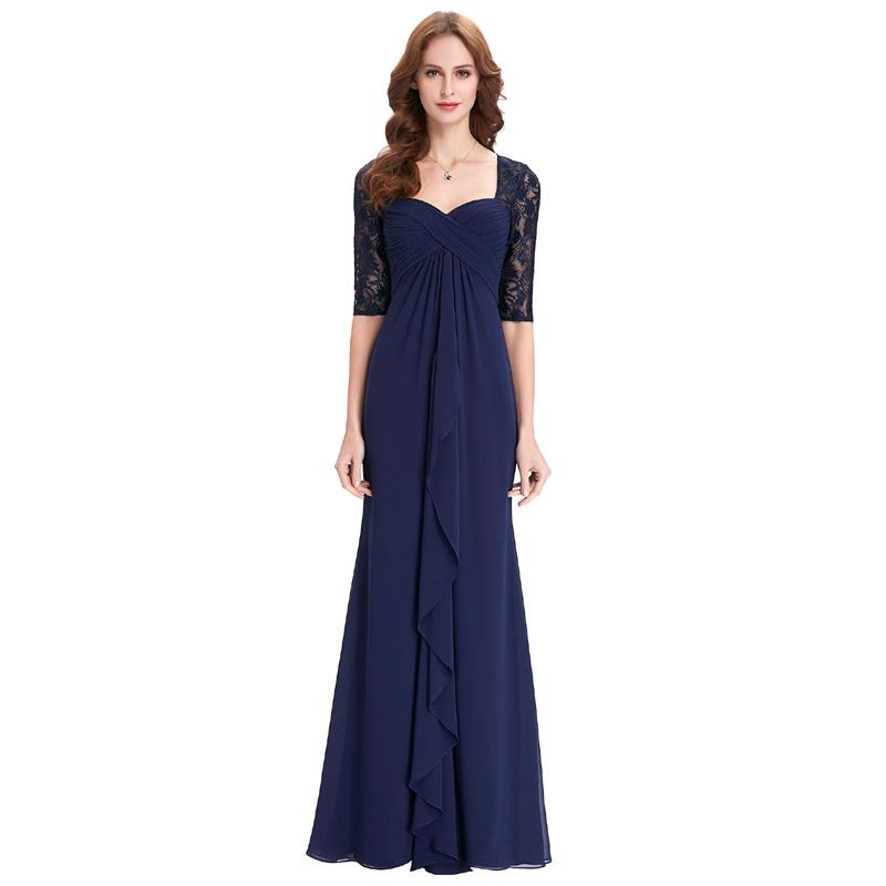 Flattering Mother Of The Bride Dresses For Curvy Moms