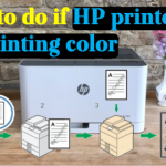 What to do if HP printer is not printing colour: